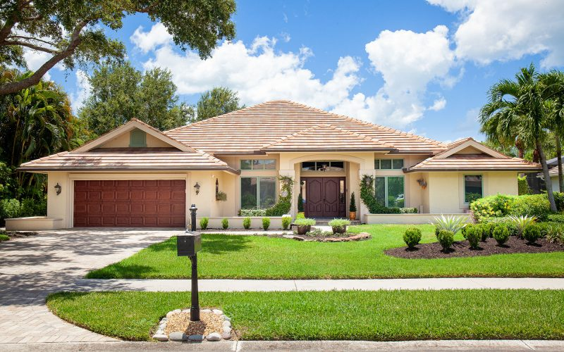 Home with Earthy Tones | The Community Association for Mill Run, Collier County, Inc.