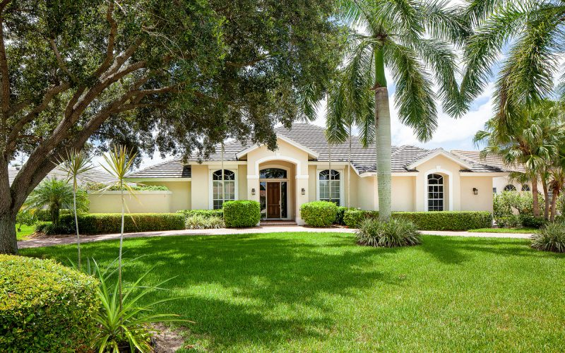 Home with Palm Trees | The Community Association for Mill Run, Collier County, Inc.