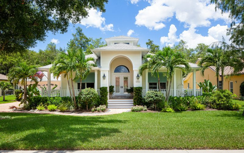 Home with Shutters | The Community Association for Mill Run, Collier County, Inc.